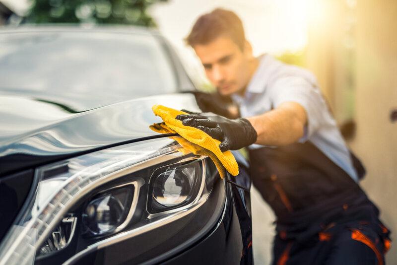 Själva vaxningen av bilen